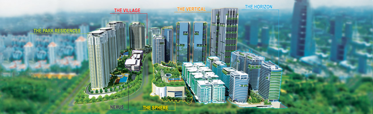 Bangsar south masterplan
