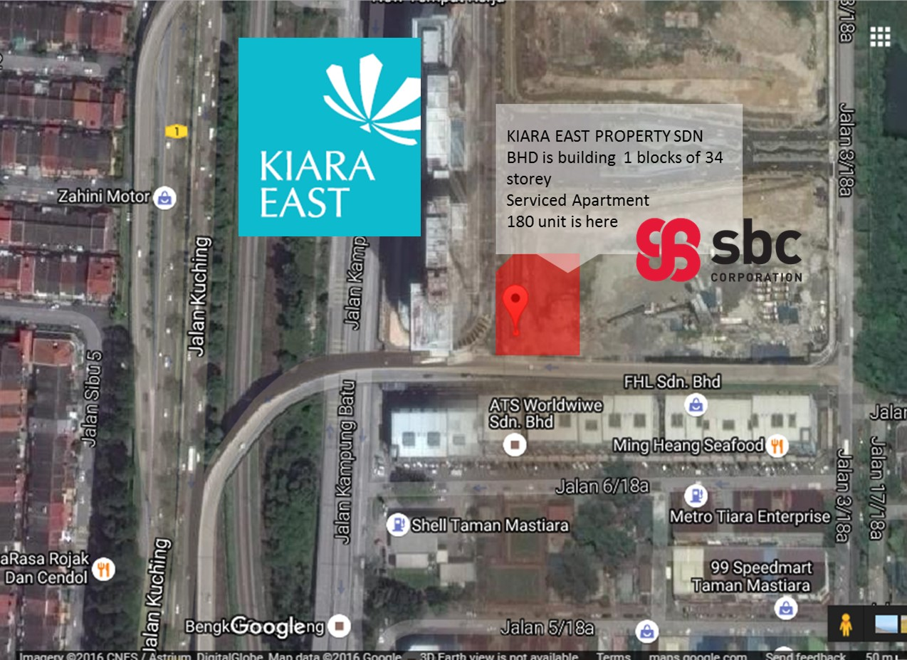 Kiara east sbc development